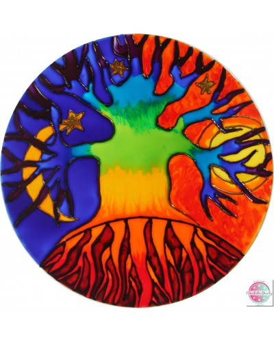 "Mandala na szkle ""Drzewo Mocy"""