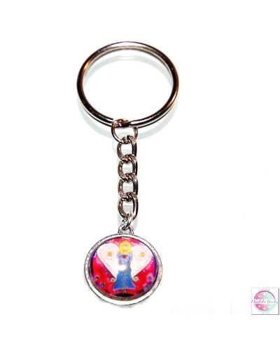 "Key ring with mandala ""Angel Guardian:."