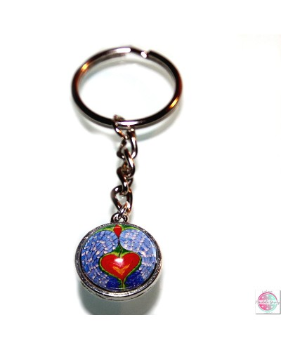 "Key ring with mandala ""Angel Guardian of Emotions""."