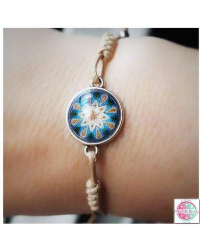 "Bracelet with mandala ""Calming""."