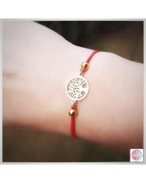 "Bracelet ""Wish Tree"" stainless."