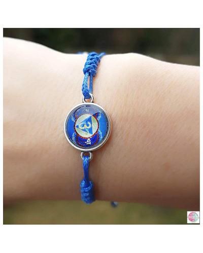 """Bracelet """"Third Eye Chakra""""."""