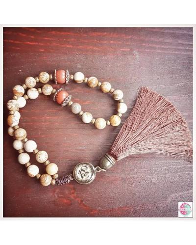 Mala beads.
