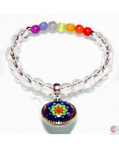 Bracelet Chakra - Rainbow Lotus.