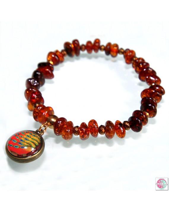 """Bracelet with mandala """"Tree of Purification""""."""