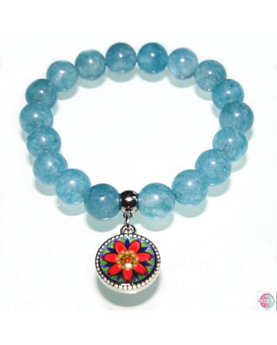 "Bracelet with mandala ""Delight""."