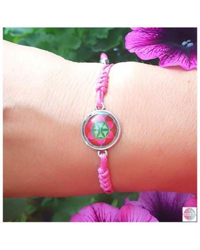 "Bracelet with mandala ""Seed od Life""."