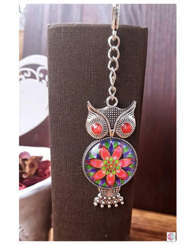 "Bookmark with mandala ""Delight""."