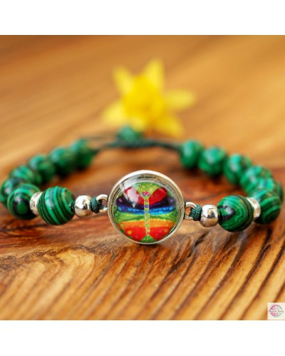 "Bracelet ""Crystal Chakra-Transformation""."