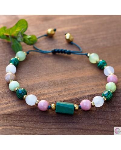 """Mineral bracelet """"For Heart""""."""