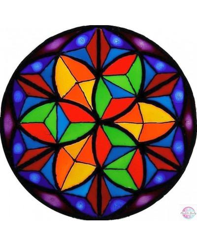 """Mandala na szkle """"Kalejdoskop"""""""