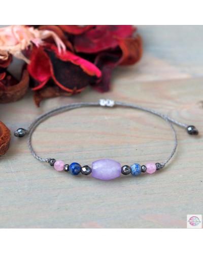 """Balance"" mineral bracelet."
