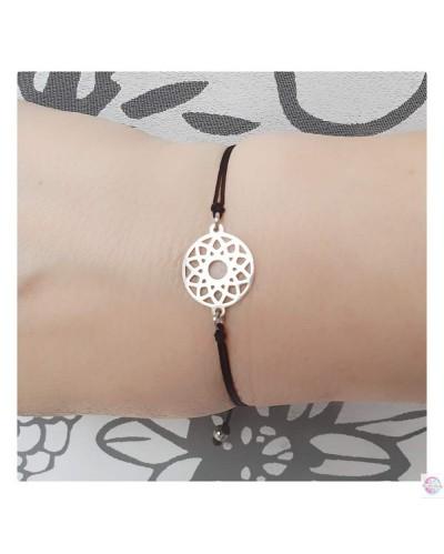 """Bracelet  filigree """"Sun"""" stainless."""