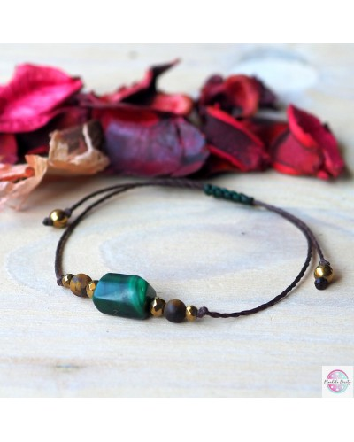 Bracelet peace of mind and transformation - malachite.
