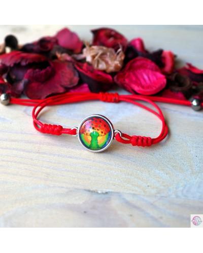 """Bracelet """"Sun Tree - wealth""""."""