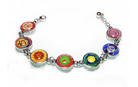 Jewelry with chakras.